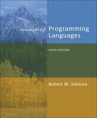 9780321193629: Concepts of Programming Languages