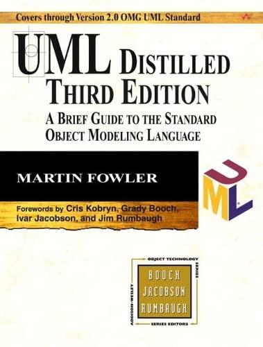 9780321193681: UML Distilled [Lingua inglese]
