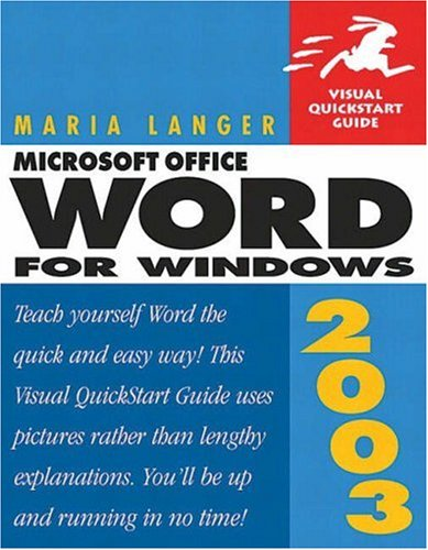9780321193940: Microsoft Office Word 2003 for Windows