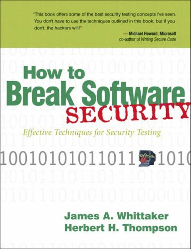 9780321194336: How to Break Software Security