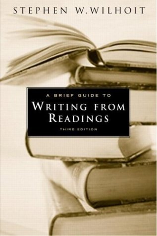 9780321194619: A Brief Guide to Writing from Readings
