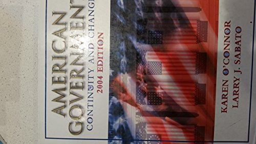 9780321195166: American Government: Continuity and Change