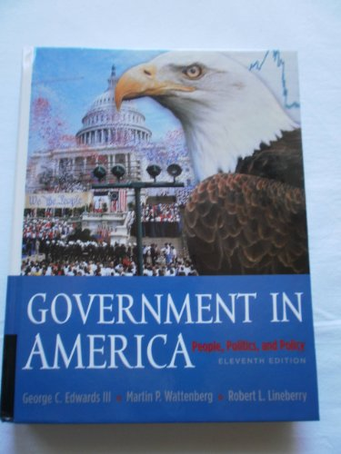 Government In America 11th Edition Pdf
