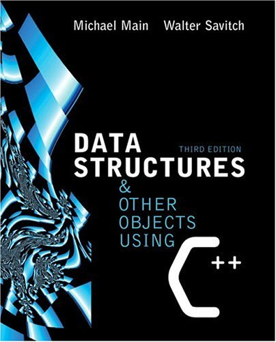 9780321197160: Data Structures and Other Objects Using C++ (3rd Edition)