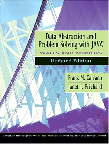 9780321197177: Data Abstraction and Problem Solving with Java, Walls and Mirrors
