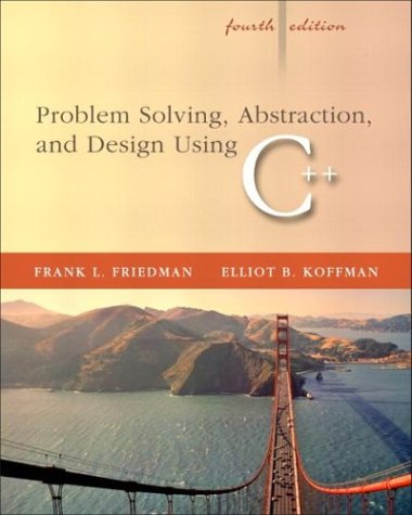 9780321197184: Problem Solving, Abstraction, and Design using C++: United States Edition