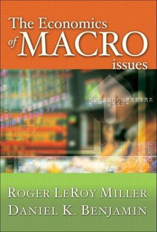 9780321197511: The Economics of Macro Issues