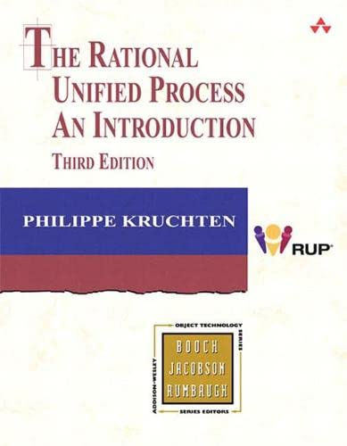 9780321197702: The Rational Unified Process: An Introduction (3rd Edition)