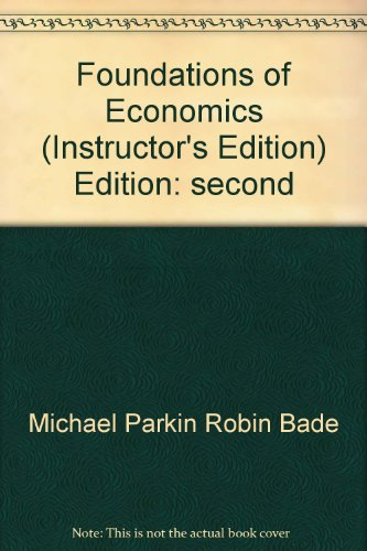 9780321197726: Foundations of Economics 2nd Edition (2nd edition)