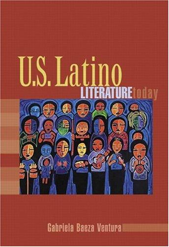 9780321198433: U.S. Latino Literature Today