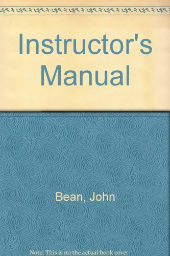 9780321198518: Instructor's Manual