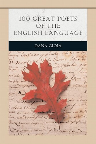 100 Great Poets of the English Language (Penguin Academics Series): Dana Gioia
