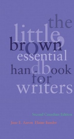 9780321199942: The Little, Brown Essential Handbook for Writers