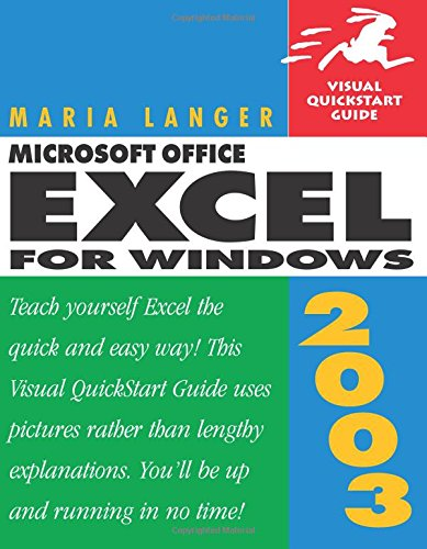 9780321200389: Microsoft Office Excel 2003 for Windows