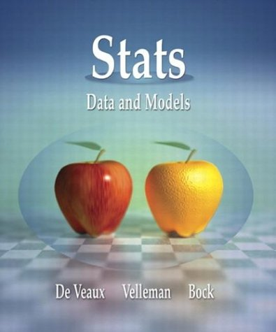 9780321200549: Stats: Data and Models