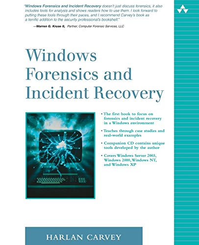 9780321200983: Windows Forensics and Incident Recovery