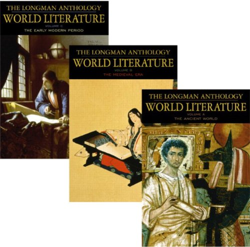 9780321202383: The Longman Anthology of World Literature Volume I (A, B, C): The Ancient World, The Medieval Era, and The Early Modern Period: Vol 1