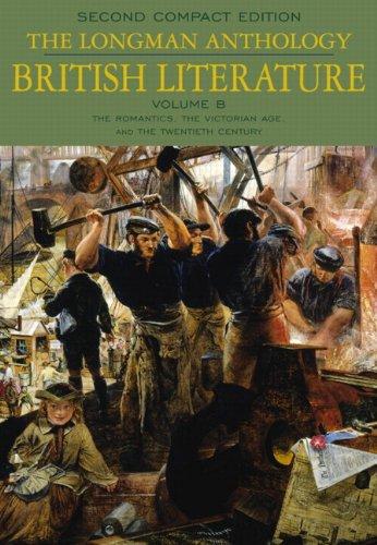 9780321202390: The Longman Anthology of British Literature, 2nd Compact Edition: Volume B