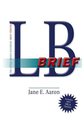 9780321202451: LB Brief, MLA Update