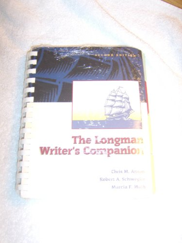 9780321202550: The Longman Writer's Companion with MLA Guide, Second Edition