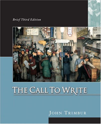 9780321203052: The Call to Write