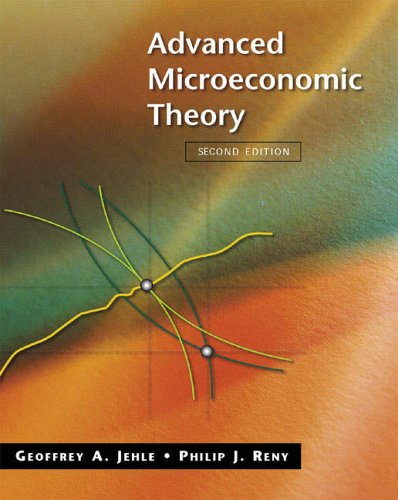9780321204530: Advanced Microeconomic Theory