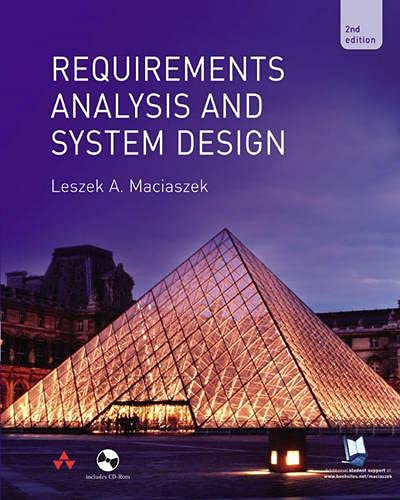 9780321204646: Requirements Analysis and Systems Design