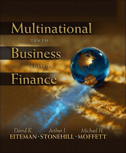 9780321204707: Multinational Business Finance