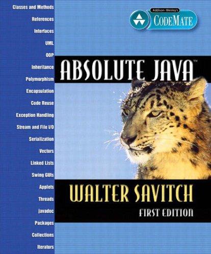 9780321205674: Absolute Java
