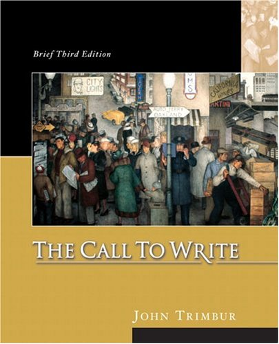 9780321207784: The Call to Write