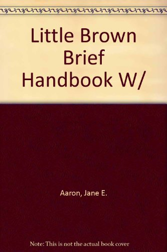 9780321209344: LB Brief Handbook with MLA Guide