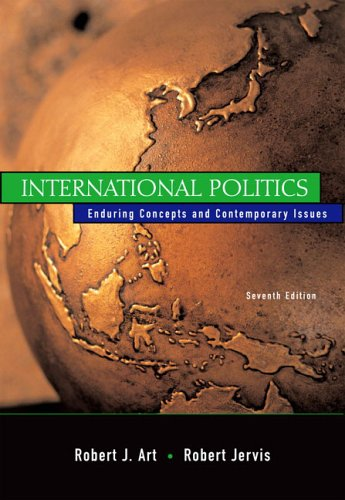 9780321209474: International Politics: Enduring Concepts and Contemporary Issues: United States Edition