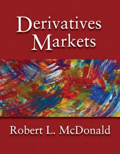 9780321210722: Derivatives Markets (International Edition)