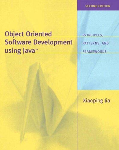 9780321210739: Object Oriented Software Development Using Java