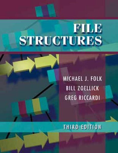 9780321210791: File Structures: An Object-Oriented Approach with C++: International Edition