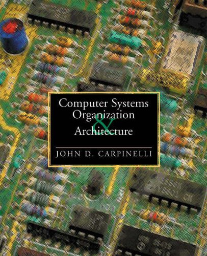 9780321210807: Computer Systems Organization and Architecture