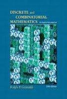 Discrete and Combinatorial Mathematics: An Applied Introduction,: Ralph P. Grimaldi