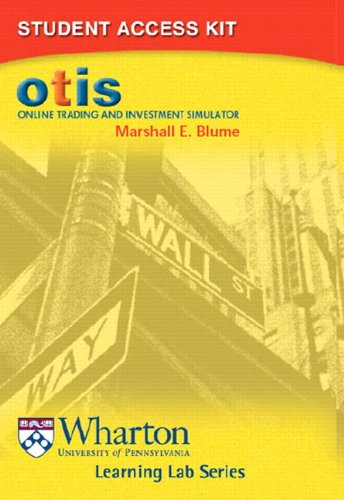 9780321213211: OTIS: Online Trading and Investment Simulator Student Access Kit