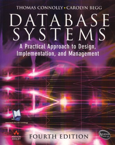 Database Systems with Access Code (0321213254) by Thomas Connolly; Carolyn Begg