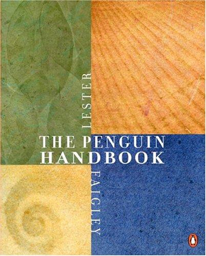9780321216274: The Penguin Handbook (MLA Update) (Paperbound)