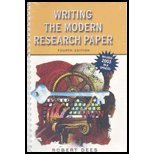 9780321216366: Writing the Modern Research Paper: (MLA Update)
