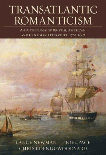 9780321217127: Transatlantic Romanticism: An Anthology of British, American, and Canadian Literature, 1767-1867