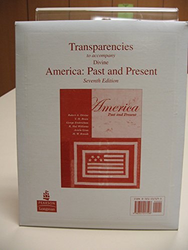 9780321217196: Transparencies to accompany America and Its People A Mosaic in the Making