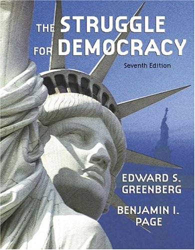 9780321217387: The Struggle for Democracy (7th Edition)