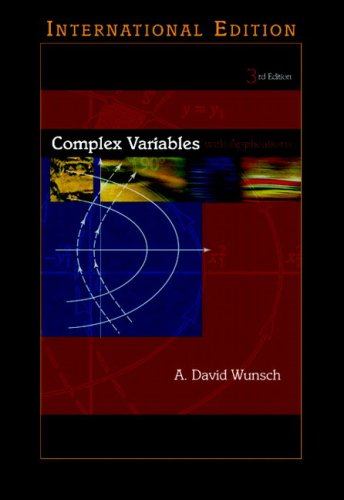 9780321223227: Complex Variables with Applications: International Edition (Pie)