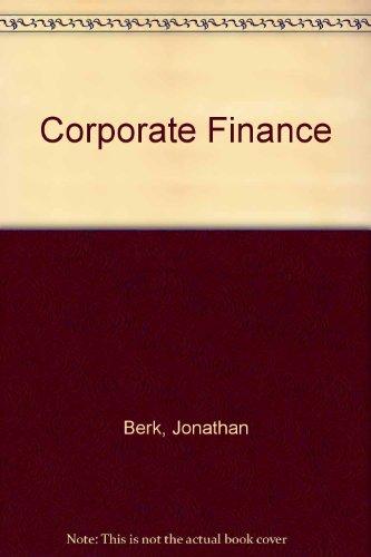 9780321223241: Corporate Finance