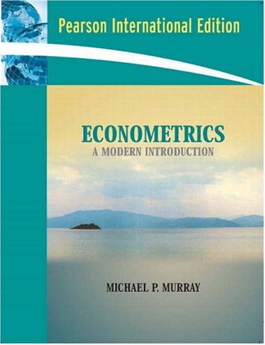 9780321223289: Econometrics: A Modern Introduction: International Edition