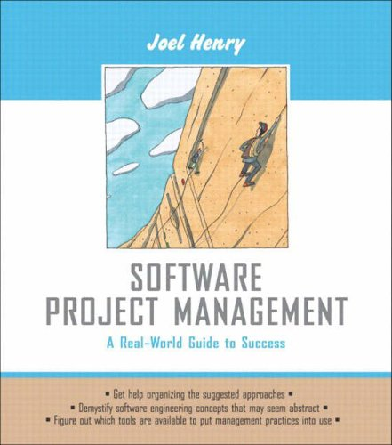 9780321223425: Software Project Management: A Real-world Guide to Success (Pie)