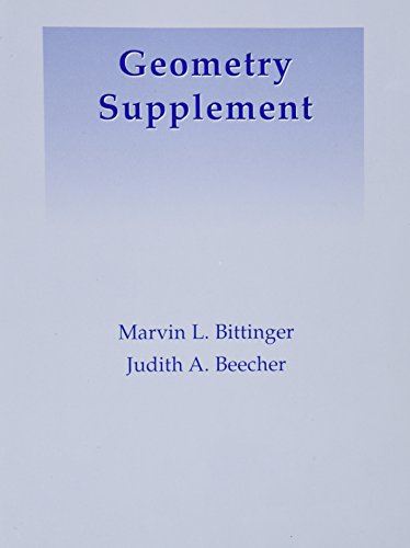 9780321223876: Geometry Supplement (6th Edition)
