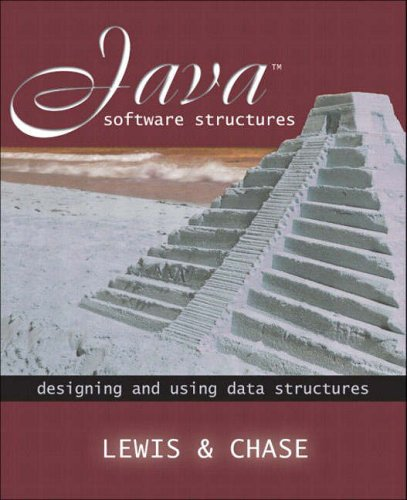 9780321225313: Java Software Structures: Designing and Using Data Structures (International Edition)